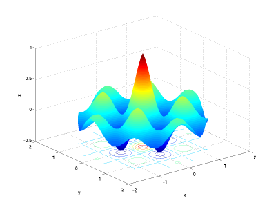 how to change surface colour of an existing plot matlab